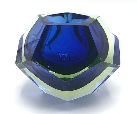 Flavio Poli, Sommerso, Murano Schale, 70s, 60s, Murano Glass Bowl, Seguso,