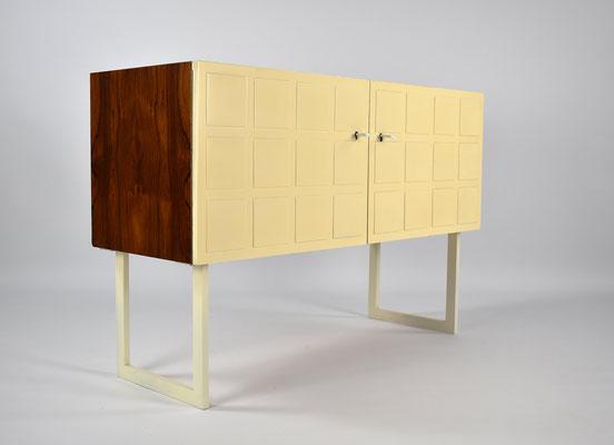 WK Möbel, Bauhaus, Sideboard Palisander, Palisander Kommode, Barschrank, Vintage Kommode, Mid Century,
