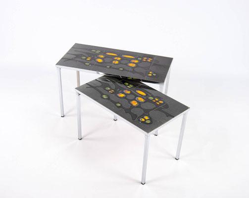 Keramiktisch, Beistelltisch, Vintage Tisch, Ceramic Planter, 1960s Table, Mid Century,