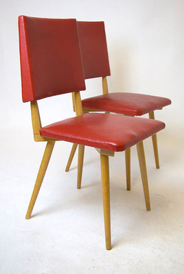 Red Kitchen Chair 50s,