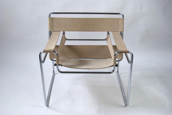 Bauhaus, Marcel Breuer, B3, Wassily Chair, Gavina, Knoll International, Kandinsky, Gropius,