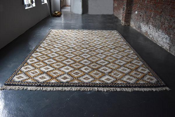 Berber Marokko, Vintage Berber, 1960s, Mid Century, Vintage Carpet, 300x400 Carpet, Berber Rug,