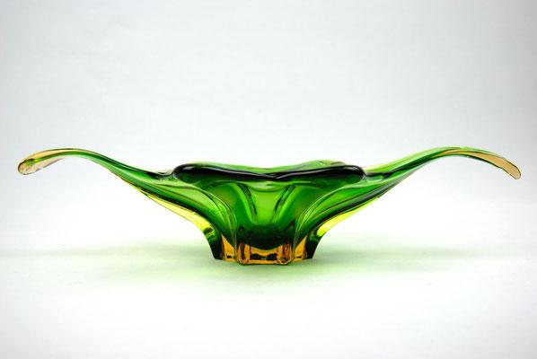 Murano Schale, Murano Italy, Murano Bowl, Seguso, Flavio Poli, 60s, 50s, Mid Century, Vintage Glass, Murano Glass,