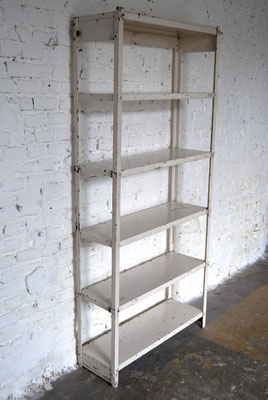 30er Jahre Industrie Regal, 30s Industrial shelf, Vintage, Eisen Regal, Bauhaus, 30s Iron shelf, Industrial,