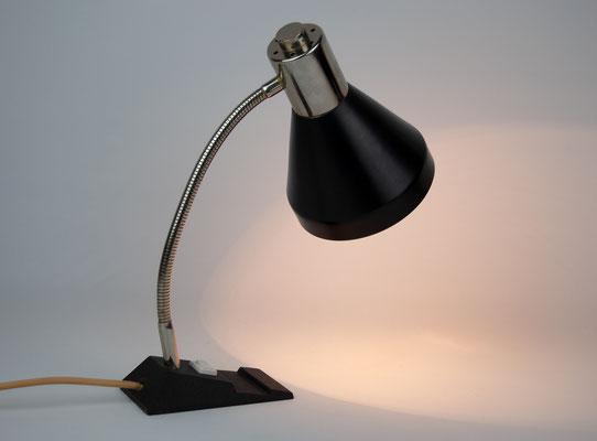 60s Desk Lamp, Kaiser Leuchten, Bauhaus, Mid Century, Vintage Schreibtischlampe, 70er Jahre Design,