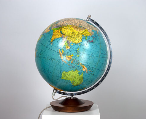 Globus GDR, Räth Globus, 80s Globe, Vintage Globe, alter Globus, Illuminated Globe