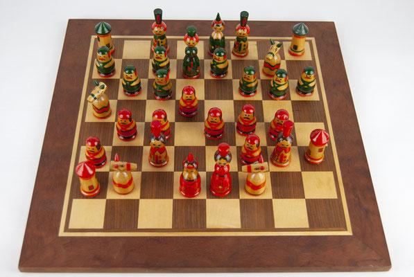 60er Jahre Schachspiel, Chess Sweden 60s, Schachspiel Mid Century, 60s Swedish Design, Vintage Chess, Mid Century, Teak 60s,