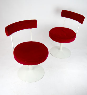 Cocktail Sessel, 70s, 60s, Cocktail Stühle, Space Age, Panton, Samt,
