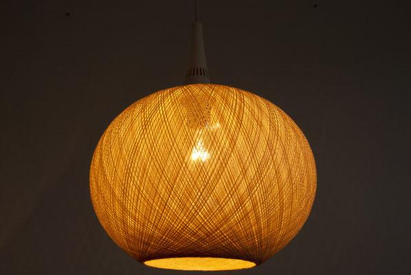 Rotoflex Pendant Lamp, 60s, 60er Jahre, Fibre Glass Lamp, Hanging Lamp