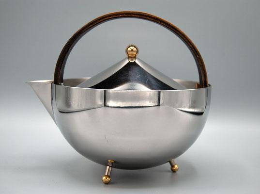 Bauhaus Teekanne, Gropius Teekanne, Teekanne Alessi, 1960s, Bauhaus, Art Deco, Bauhaus Style, 1960s Teapot,