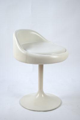 Drehhocker 60s, Space Age, 60er Jahre, 70er Jahre, Tulip Hocker, Bauhaus, Art Deco,