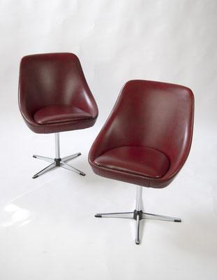 Cocktail Sessel, Space Age, 60s, 70s, Schalen Sessel, Drehstuhl, Lounge Chair,