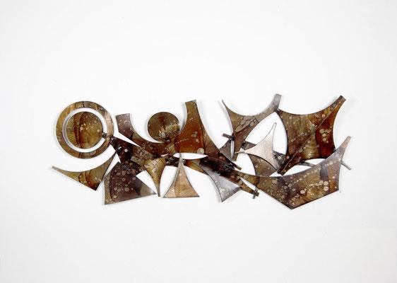 Henrik Horst, Denmark, Brutalist Wallobject, Brutalist Art, Wall Art, Mid Century, Wall Sculpture, 1970s, 1960s,