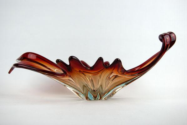 1950s Murano Bowl, Murano Glass, Murano Schale, Glas Schale Murano, 1950er Jahre, 1960er Jahre,