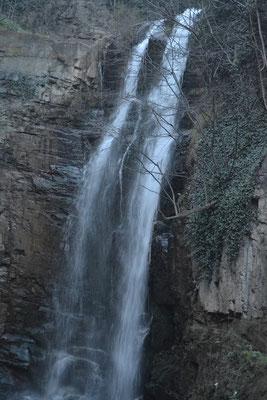 der Wasserfall in Tiflis Altstadt