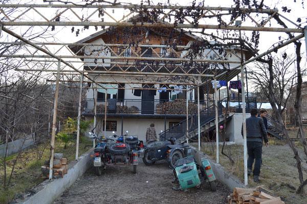 Die Datscha, das Winterlager der leavinghomefunktion