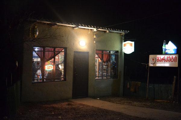 unser Getränke und Verpflegungsstützpunkt in Tserowani - das Magazin