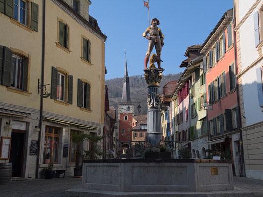 Brunnenfiguren wie in Bern