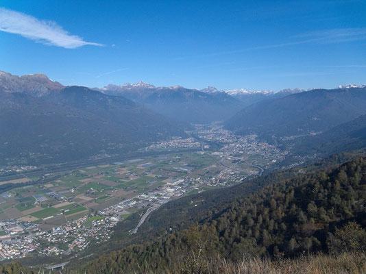 Magadinoebene/Bellinzona