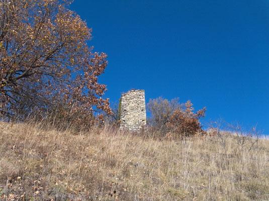 Alter Wachtturm beim Château de la Soie
