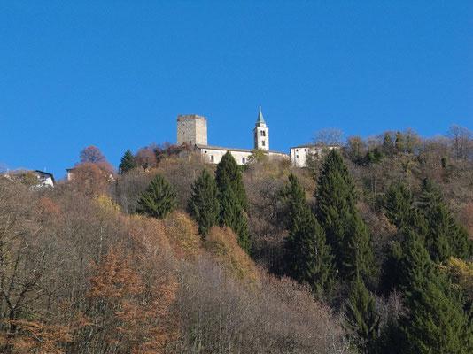Santa Maria i.C. von Castaneda aus