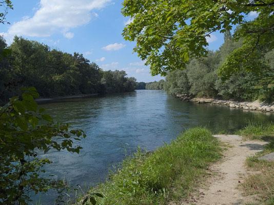 Reussspitz: Zusammenfluss von Reuss und Lorze