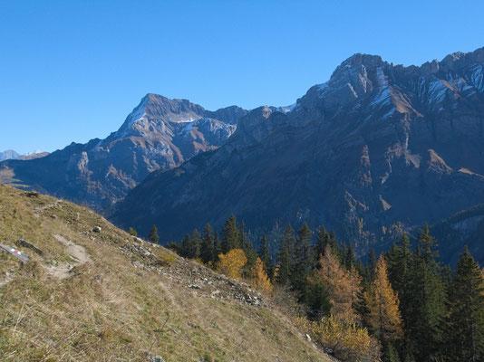 Blick in Richtung Sanetschpass