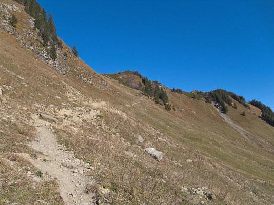 Auf dem Weg zum Col de Voré