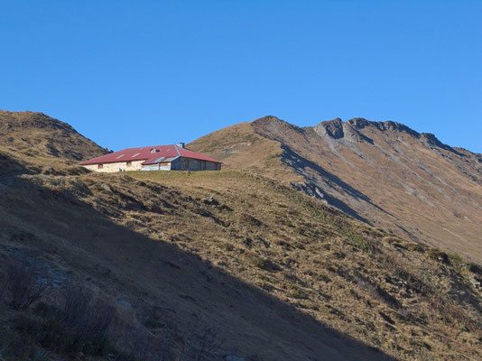 Chalet Vieux, Col des Andérets und Arnenhorn