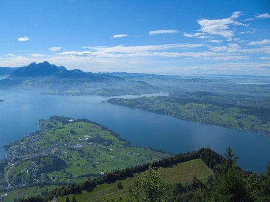 Blick vom Känzeli in Richtung Luzern