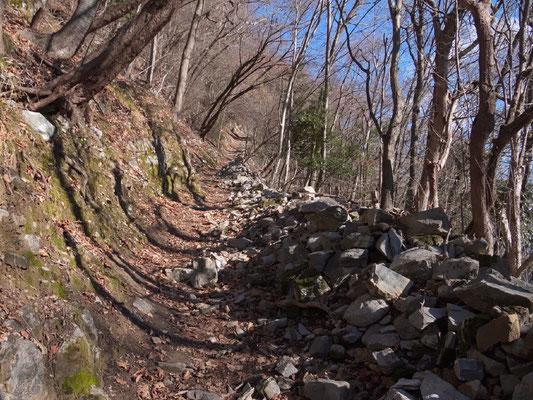 Bergweg oberhalb von Gandria