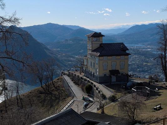 Ristorante Vetta auf dem Monte Brè