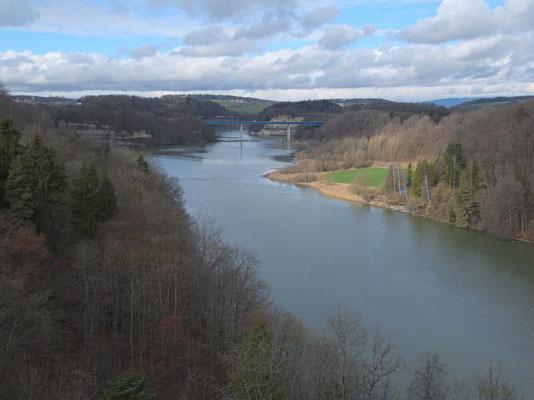 Autobahnbrücke A12: Pont de la Madeleine