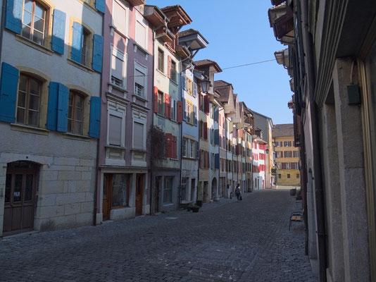 Die schöne Altstadt von La Neuveville