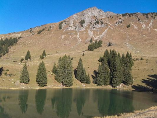Lac Retaud, La Palette