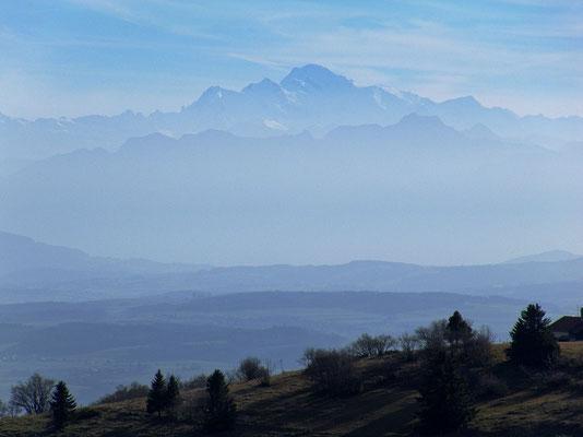 Zoom zum Mont Blanc