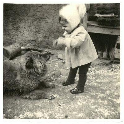 Petra + Mama´s Chow Chow 11.01.1964