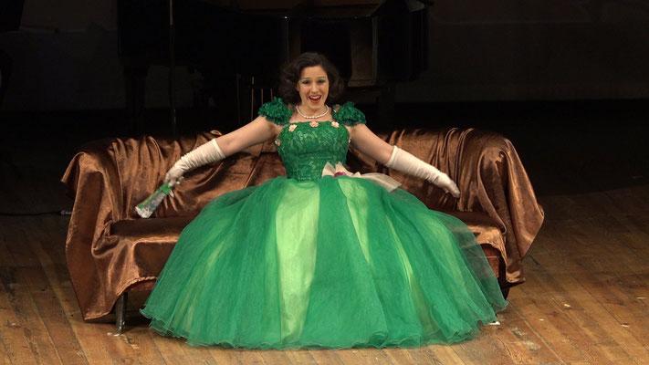 """""""Die Fledermaus"""" Ensemble Oper@Tee (c) Heinz Lasek 2019 Katharina Tschakert"""