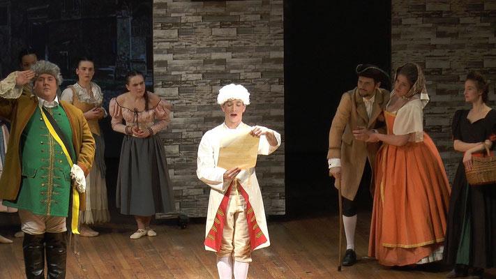 Der Bettelstudent (c) Heinz Lasek Ensemble Oper@Tee