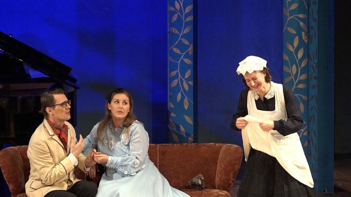 """""""Die Fledermaus"""" Ensemble Oper@Tee (c) Heinz Lasek 2019 Magdalena Renwart, Alice Waginger"""