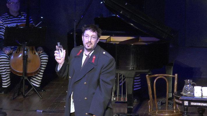 """""""Die Fledermaus"""" Ensemble Oper@Tee (c) Heinz Lasek 2019 Robert Herzl"""