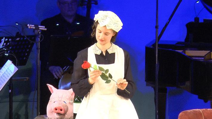 """""""Die Fledermaus"""" Ensemble Oper@Tee (c) Heinz Lasek 2019 Alice Waginger"""