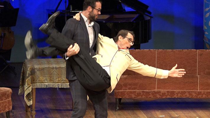 """""""Die Fledermaus"""" Ensemble Oper@Tee (c) Heinz Lasek 2019"""