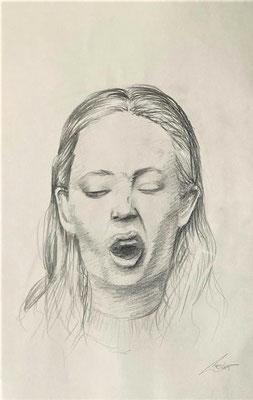 Auszug aus seinem Skizzenbuch | Bleistift auf Papier | 297x420 mm