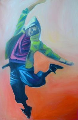 Tänzer*in | Öl auf Leinwand | 70x100cm