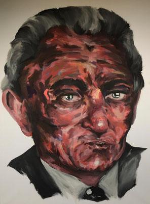 I'll be good | Acrylfarben auf Leinwand | 90cm x 120cm | 2021