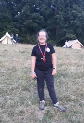 18/07/19 - Rassemblement scouts - Arthies (95) - Marie-Renée