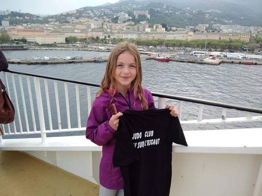 20/04/19 - Bateau entre la Corse et le continent - Maé