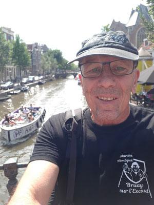 30/07/19 - Amsterdam (Pays-Bas) - Alain