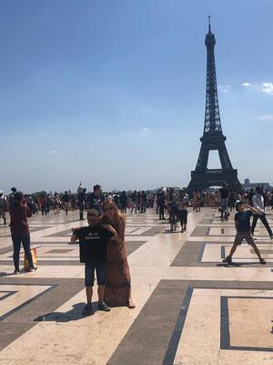 06/07/19 - Trocadéro, Paris (75) - Sonia & Mahé